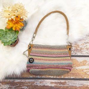 🎇 The Sak Multi-Colored Crochet Bag